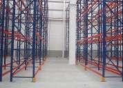 Venta de perchas, estanterias, sistemas de almacenaje para carga manual o paletizada