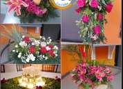 ¡diseño de eventos sociales virtual! diseño floral