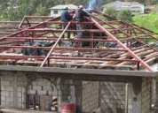 Maestro soldador, estructuras metálicas, puertas, rejas, ventanas...