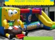 Cañon de espuma, inflables, algodon a. 0983946472