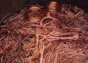 Compra de cobre, bronce, aluminio, hierro, chatarra metálica a los mejores precios...quito - guayas