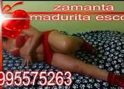 Zamanta madurita escort ofrece sexo llamame 0995575263