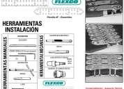 Linea flexco profesional de grapas mecanicas