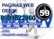 Paginas web economicas con hosting gratis