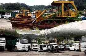 Compra de chatarra metálica, maquinarias, vehículos, equipo caminero y más residuos