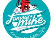 Famous mike bar y parrilla restaurante comida americana