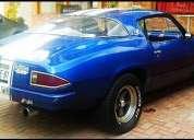 Camaro z28 clasico muscle car americano