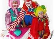 Tus fiestas infantiles seran divertidas payasos payasas mimos horas locas baby showers