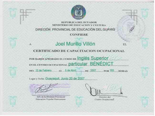 Traducción Profesional de Inglés en Guayaquil