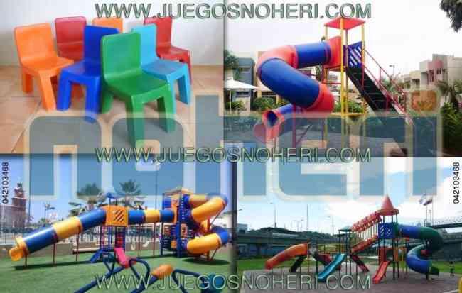 Juegos Infantiles Plástico Exterior Noheri SA