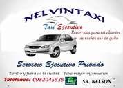 Servicio de taxi ejecutivo