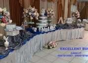 buffet economico para bodas 15 aÑos, etc.