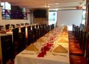 Remato restaurante en funcionamiento av. shyris