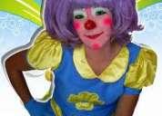 Show infantil payasitos payasitas $27,25 fiestas horas locas mago mimos