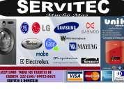 (02)2221508 servitec muchomas reparacion de lavadoras secadoras refrigeradoras calefones