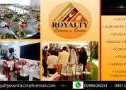 eventos y servicio de catering - alquileres