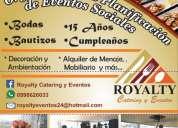 OrganizaciÓn de bodas bautizos y todo evento social
