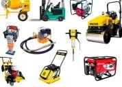 Alquiler de maquinaria para la construccipn