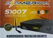 Decodificador  satelital 250 canales