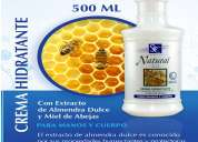 Vendo cremas cosmeticas corporales con extracto de productos naturales, filtros uva y uvb