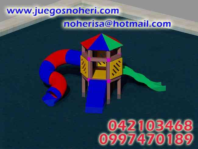 NOHERI S.A JUEGOS INFANTILES PLÁSTICO