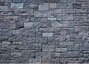 Telef 022428098 lavamos fachadas de piedra porosa