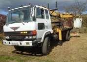 Vendo camion grua hidraulica