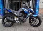 Yamaha fz16 2013 con freno de disco post. carburador de competencia filtro de aire alarma y extras