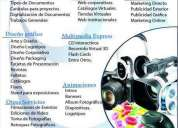 servicios multimedia, diseño grafico y 3d para todos