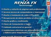 servicios profesionales tecnológicos, web, eléctricos, etc