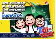 Infinity internet banda ancha ..llegamos mas rapido