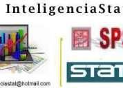 Inteligenciastat-asesoria y apoyo en prog spss, stata, estadística