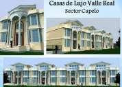 Casas nuevas capelo 555 el metro cuadrado