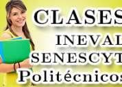 Cursos para examen ineval, senescyt, ser bachiller. profesores politecnicos