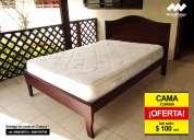 oferta ! camas de 2 plazas a tan sólo $ 100 usd