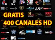 Gratis 400 canales hd