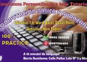 Se ofrece cursos de computación manejo de windows