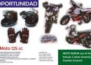 Oportunidad moto nueva