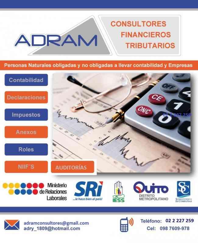 Asesoría Contable Tributaria y Financiera - Contador Externo