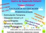 Centro de desarrollo infantil happy children