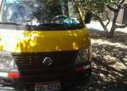 Vendo furgoneta nissan aÑo 2007 con o sin puesto con dos recorridos