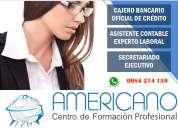 cursos prácticos contables, administrativos y de cajeros bancarios