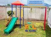 juegos infantiles para parques infantiles, instituciones educativas y conjuntos habitacionales