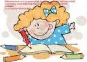 Ayudo a supervisar tareas escolares de1ro.a 7mo de bÁsica