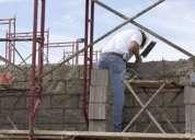 Construyo casas soy albañil pintor ceramica plomero electricista extrucuturas