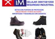Botas dielectricas, botas punta de acero