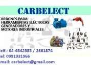 Escobillas, carbones para generadores, motores, herramientas electricas, etc. - guayaquil