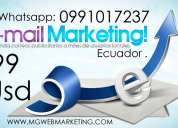 E-mail marketing a empresas y empresarios del ecuador