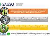 Buenas practicas de manufactura, seguridad laboral, gestion ambiental, fichas medicas
