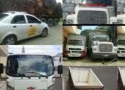 transportes en camiones mudanzas